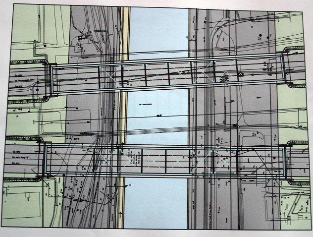 Схема моста Литер Б