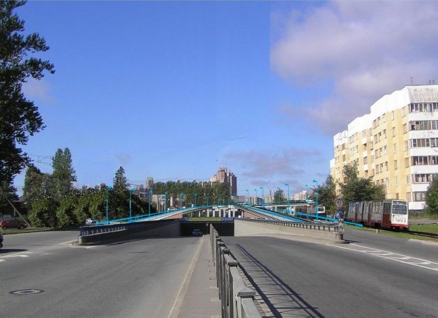 http://www.spb-projects.ru/showpage.php?id=425. засекреченная информация о строящейся развязке на Савушкина-Планерной)...