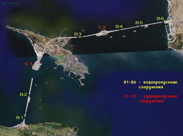Схема на основе спутникового снимка. Кликните для увеличения