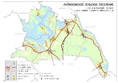 План нового Приозерского шоссе через ларионово.