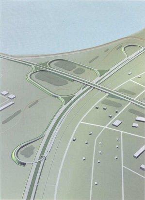 Alex. от 02.10.2006).  Схема развязки, построенная с помощью GPS.  - Источник: Александром Карасевым - Предоставил.