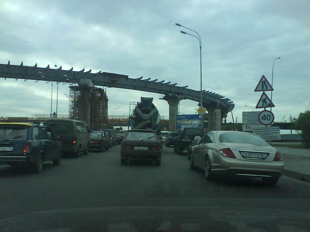 схема развязки пулковское шоссе