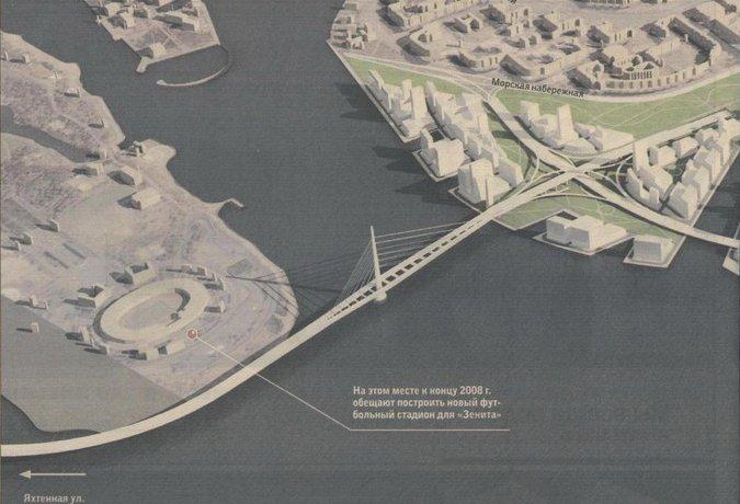 Западный скоростной диаметр (ЗСД) в Санкт-Петербурге - один из проектов , губы, а также проходящим по западной кромке...